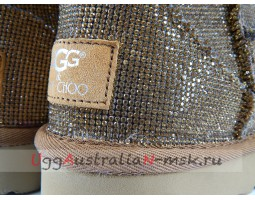 UGG & JIMMY CHOO MINI SEREIN II GOLD
