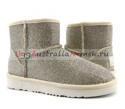 UGG & JIMMY CHOO MINI SEREIN II SILVER