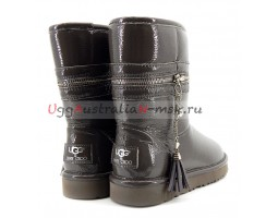 UGG & JIMMY CHOO ZIPPER GREY