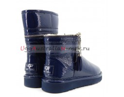 UGG & JIMMY CHOO ZIPPER NAVY