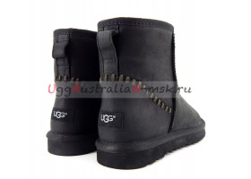 UGG MENS CLASSIC MINI DECO BLACK