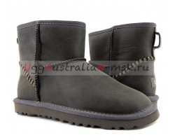 UGG MENS CLASSIC MINI DECO GREY