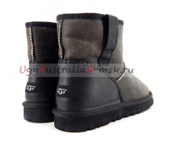 UGG MENS CLASSIC MINI BOMBER STITCH GREY