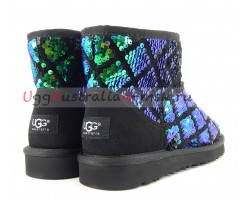 UGG MINI SPARKLES MULTI GREEN