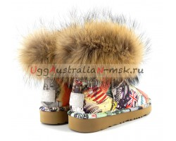 UGG & JIMMY CHOO TRAVEL FOX ORANGE
