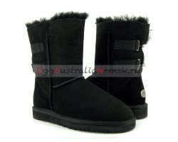 UGG SHORT FAIRMONT BLACK