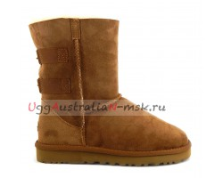 UGG SHORT FAIRMONT CHESTNUT