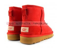 UGG CLASSIC ii MINI RED