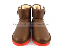 UGG MENS BENI CHESTNUT AND RED