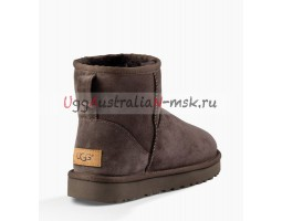 UGG MINI CLASSIC II CHOCOLATE
