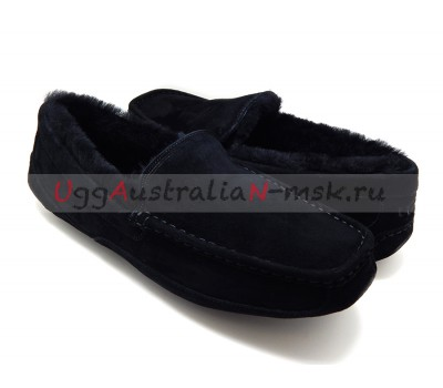 UGG MEN ASCOT NEW BLACK