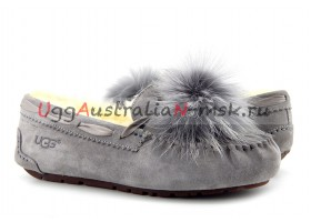 UGG DAKOTA POM POM GREY