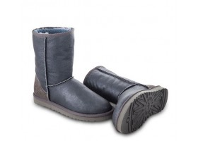 UGG KIDS METALLIC GREY