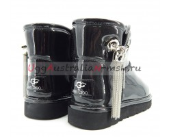 UGG & JIMMY CHOO L&C BLACK