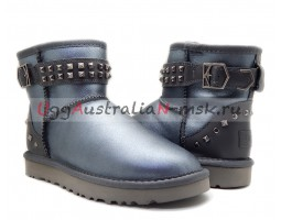 UGG NEVA DECO STUDS METALLIC GREY