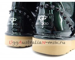 UGG & JIMMY CHOO MINI SPIKES GREEN