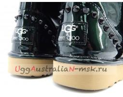 UGG & JIMMY CHOO MINI SPIKES GREEN