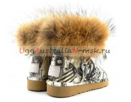 UGG & JIMMY CHOO TRAVEL FOX GREY