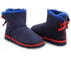 UGG BAILEY BOW 78 NAVY