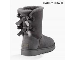 UGG BAILEY BOW II GREY