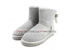 UGG BAILEY BOW PEARLY GREY VIOLET