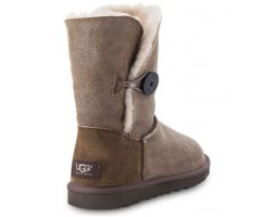 UGG BAILEY BUTTON BOMBER JACKET CHOCOLATE
