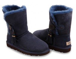 UGG BAILEY BUTTON CHARMS NAVY
