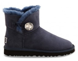 UGG BAILEY BUTTON MINI BLING NAVY