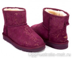 UGG CLASSIC MINI CONIFER PINK