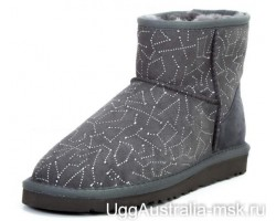 UGG CLASSIC MINI CONSTELLATION GREY