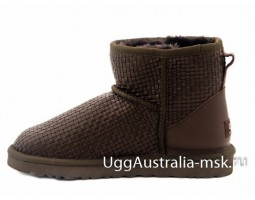 UGG CLASSIC MINI BOTTEGA VENETA BROWN