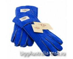 UGG GLOVE RED NAVY