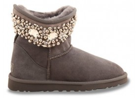 UGG & JIMMY CHOO CRYSTALS GREY