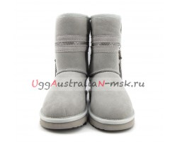 UGG & JIMMY CHOO ZIPPER GREY VIOLET