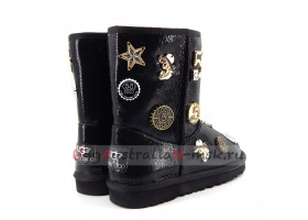 UGG & JIMMY CHOO 5 TH AVENUE LUCKY BLACK
