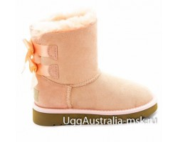 UGG KIDS BAILEY BOW PINK