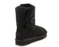 UGG KIDS BOOTS HARKLEY BLACK