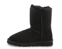 UGG KIDS BAILEY BUTTON BLACK