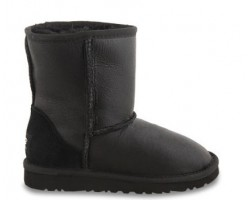 UGG KIDS METALLIC BLACK