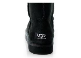 UGG MENS CLASSIC SHORT BLACK