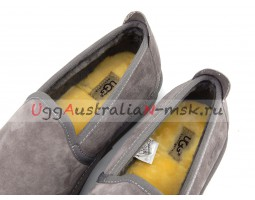 UGG MENS SLIP-ON NEWMAN GREY