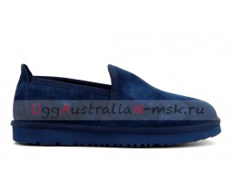 UGG MENS SLIP-ON NEWMAN NAVY