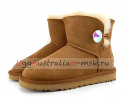 UGG MINI BAILEY BLING NEW CHESTNUT