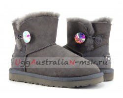 UGG MINI BAILEY BLING NEW GREY