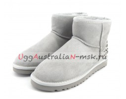 UGG MINI STUDDED BLING GREY