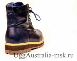 UGG MEN'S MOREAU LEATHER NAVY