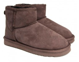 UGG MENS CLASSIC MINI CHOCOLATE