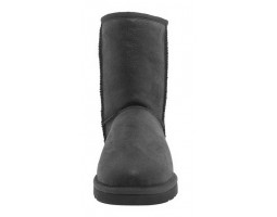 UGG MENS CLASSIC SHORT METALLIC BLACK