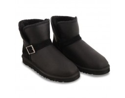 UGG MENS MINI DYLYN METALLIC BLACK