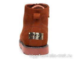 UGG MOREAU SUEDE ORANGE MAN
